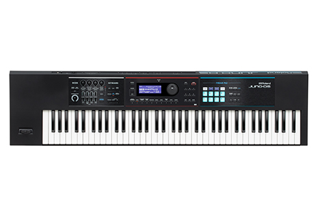 Roland JUNO-DS76 Synthesizer — New 76-Note JUNO-DS Model Provides Extended Creative Range for Performing Keyboardists —