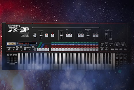 Roland Cloud JX-3P Software Synthesizer — JX-3P unvailed as a part of Roland Cloud's Legendary Series –