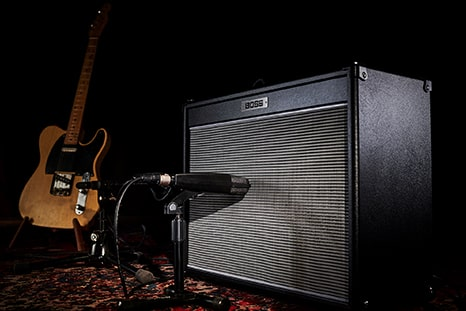 BOSS Nextone Series Guitar Amplifires — Exciting new concept in professional guitar amplification —