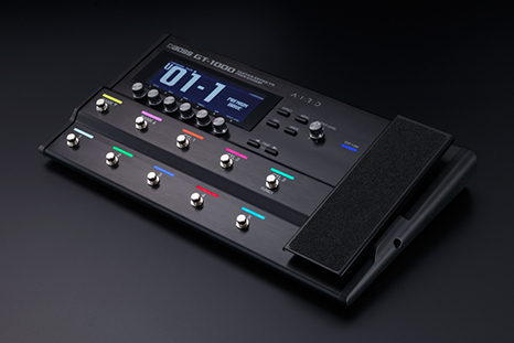 GT-1000—Industry-Leading Tone with Breakthrough BOSS Technology